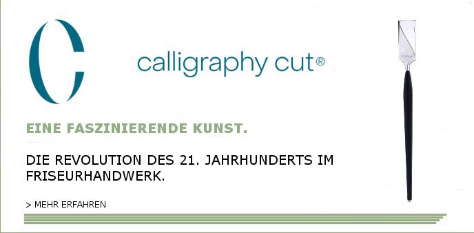 Eine faszinierende Kunst. Calligraphy Cut.
